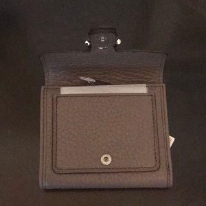 98af458f37ec2 MICHAEL Michael Kors Bags - Michael Kors Cooper Carryall Pebbled Cinder  Wallet